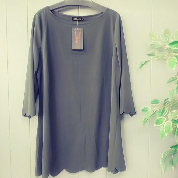 Reborn Dresses & Skirts - nwt womens olive tunic/dress